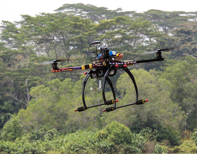 Drones Fight Deforestation in Malaysia