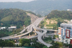 Highways in Petaling Jaya by Alpha @flickr
