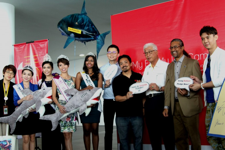 WWF Event Seeks to Convince Malaysians to Take Sharks off Menus