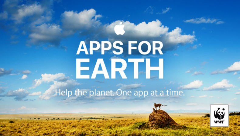 Apple turns Green with Apps for Earth