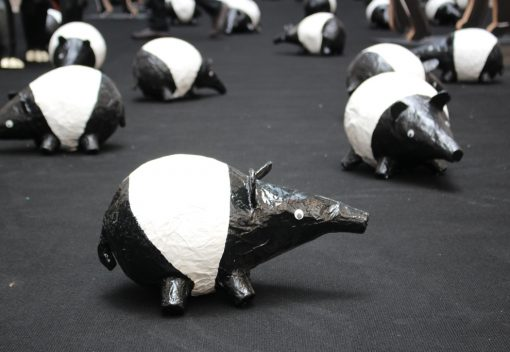 Clay Figurines for Tapir Conservation