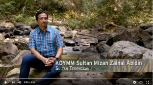 "Terengganu's Sultan Mizan Zainal Abidin addresses the need for conservation in ""Harimau Selamanya."" Photo Credit: Novista Sdn Bhd via YouTube"