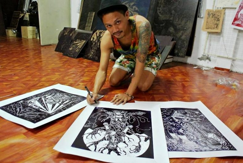 Punk Rockers rock Sabah's Art Scene with a Conservationist Message