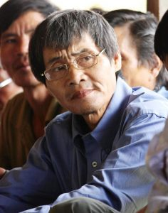 Penan social activist James Lalo Keso wants Upper Baram's forests declared a National Park. Photo Credit: Sematong Express