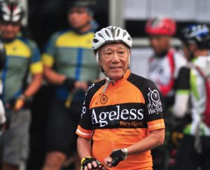 An elderly man participates in the Ride for the Wild event in Kuching. Photo Credit: Ride for the Wild