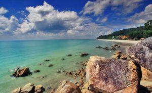 Stunning natural beauty, like Teluk Cempedak Beach, is what is Kuantan's real resource. Photo Credit:  Vivo Hotel