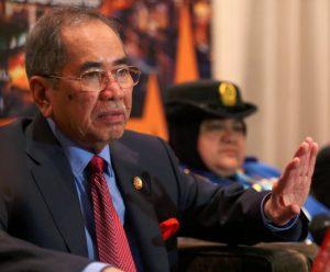 Dr Wan Junaidi Tuanku Jaafar, minister of Natural Resources and Environment. Photo Credit: NSTP