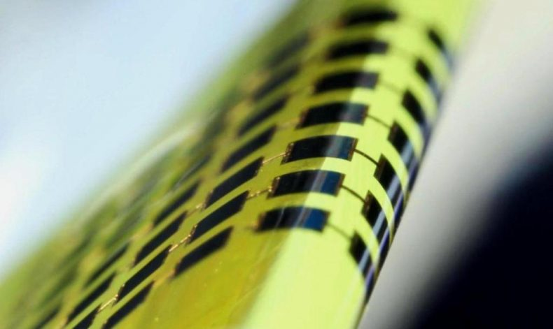 Ultra-thin Solar Cells could power Wearable Electronics