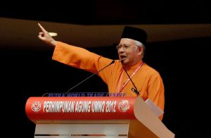 Prime Minister Najib Razak has become embroiled in a massive  corruption scandal. Photo Credit: Wikimedia Commons