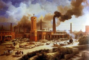 The Industrial Revolution was a turning point in the life of the planet, for better and worse. Photo Credit: Wikimedia Commons