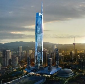 Merdeka PNB118, Malaysia's soon-to-be tallest building, will be a towering feat of green technology. Photo Credit: Permodalan National Berhad