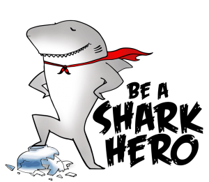 """You can be a """"shark hero"""" by saying no to shark fin soup. Photo Credit: WWF-Malaysia"""
