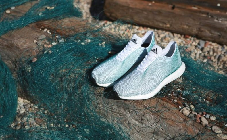 Adidas turns Ocean Waste into Shoes