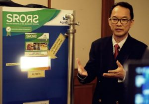 Andrew Liew, director of AquaEco, says his company can help revolutionize Malaysia's palm oil industry. Photo Credit: MIS Asia