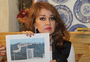 Shariffa Sabrina Syed Akil, president of PEKA, is an outspoken environmental activist. Photo Credit: Utasan Online