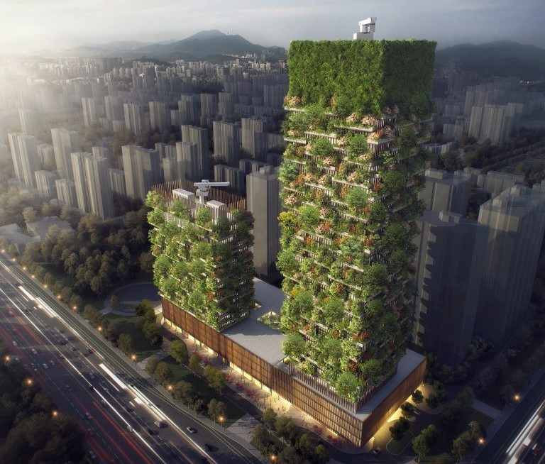 Here comes Asia's first 'Vertical Forest'