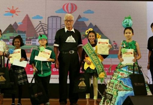 Youngsters vie to become Green Idols