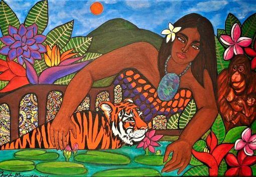 Penang Artist showcases Mother Earth