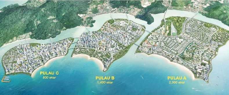 Penang Reclamation Scheme ignites a War of Words