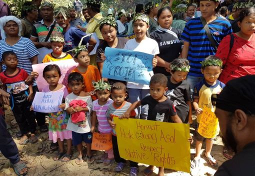 Orang Asli villagers cry Foul over a new Hydroelectric Dam in Perak