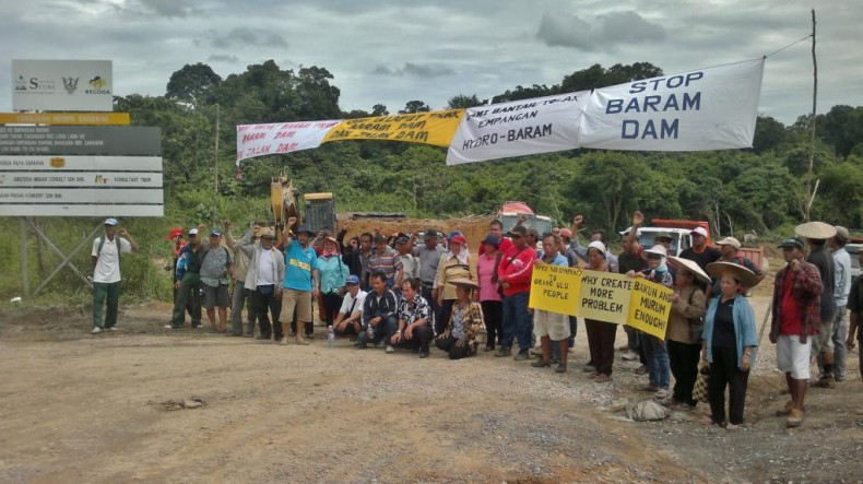 Blockade on Potentially Disastrous Baram Dam May be Lifted