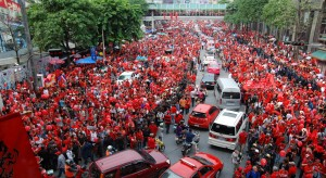 'Red Shirt' rally via wikipedia