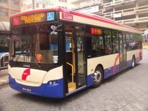 A Rapid Transit bus in Klang Valley near KL by mailer_diablo @wikipedia