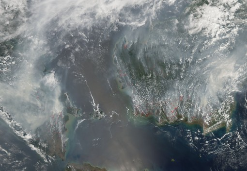 A New way to Fight Indonesian Forest Fires