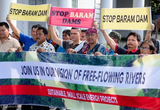 Activists Want a Clear 'No' on Baram Dam … and Preferably in Writing