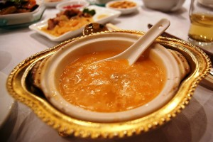 Shark fin soup may be a delicacy, but it comes at an enormous cost to the environment. Photo Credit: Wikimedia Commons