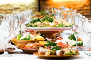 Holiday feasts and banquets are a major source of food waste. Photo Credit: Wikimedia Commons