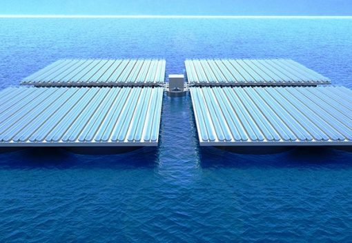 Heliofloat can float giant Solar Panels