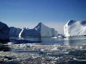 Melting polar icecaps spell trouble for low-lying areas worldwide. Photo Credit: Flickr