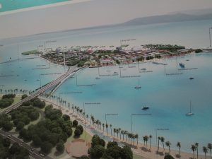 A planned artificial island, by Gurney Drive, is envisioned to serve as a new draw for tourists. Instead, it might destroy a lot of the local area's natural appeal. Photo Credit: Resort Development