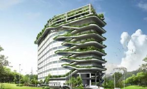 Green buildings can become self-contained islands of sustainability. Photo Credit: asiangreenbuildings.com