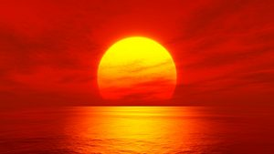 Oceans absorb 93% of the heat from the sun. Photo Credit: Pixabay