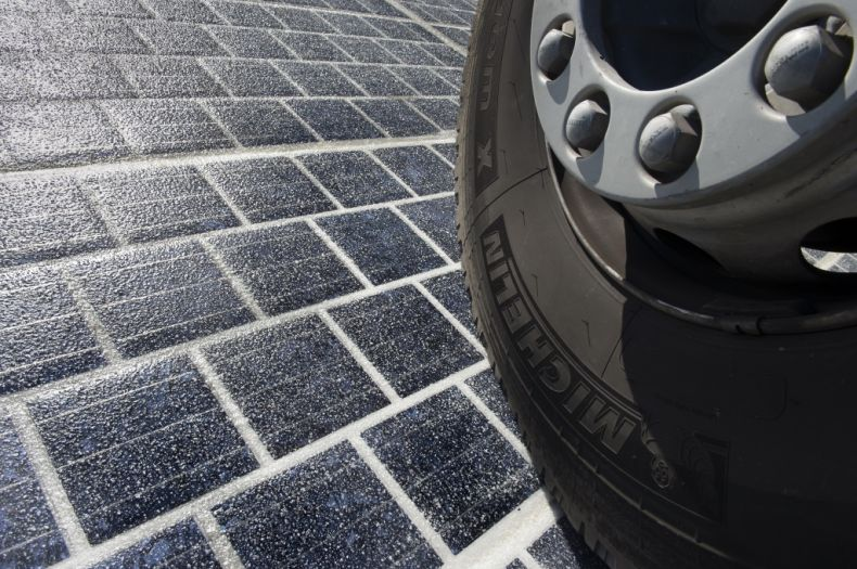 Solar Road gets rolled out in France