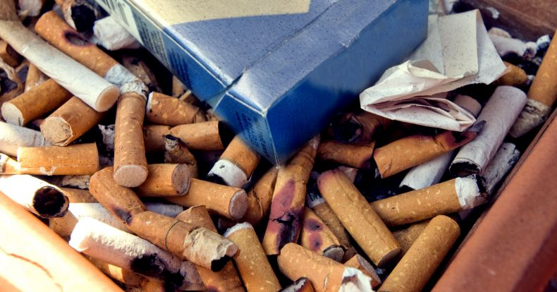 Asphalt mixed with Cigarette Butts can Reduce the Island Heat Effect