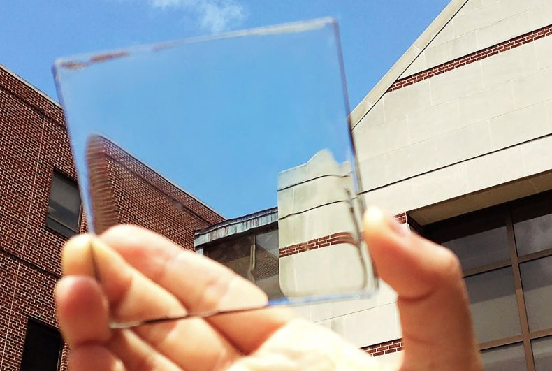 Here come Transparent Solar Panels