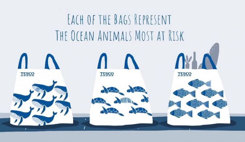 Tesco Malaysia wants to help Shoppers in Wasting fewer plastic Bags